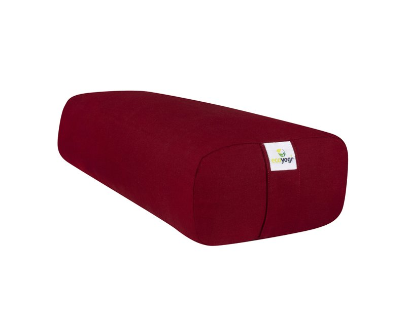 Rode rectangular yoga bolster